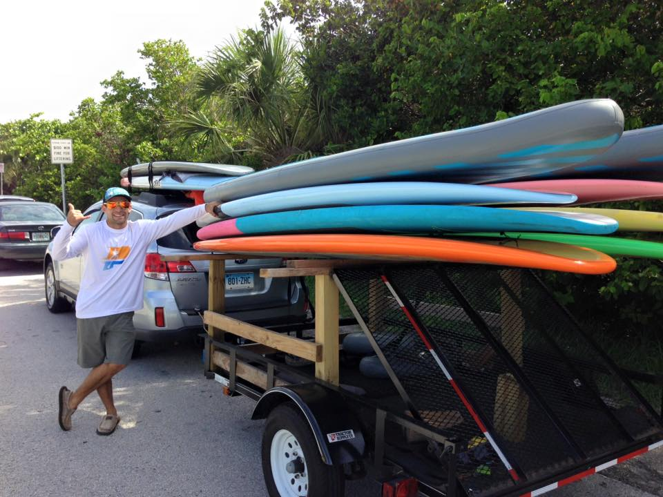 Types of SUP Boards