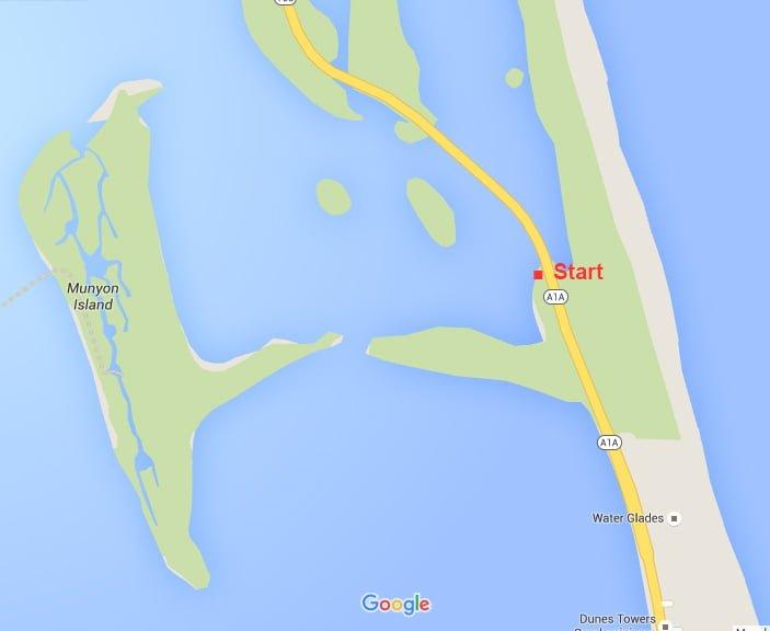 Munyon Island Map