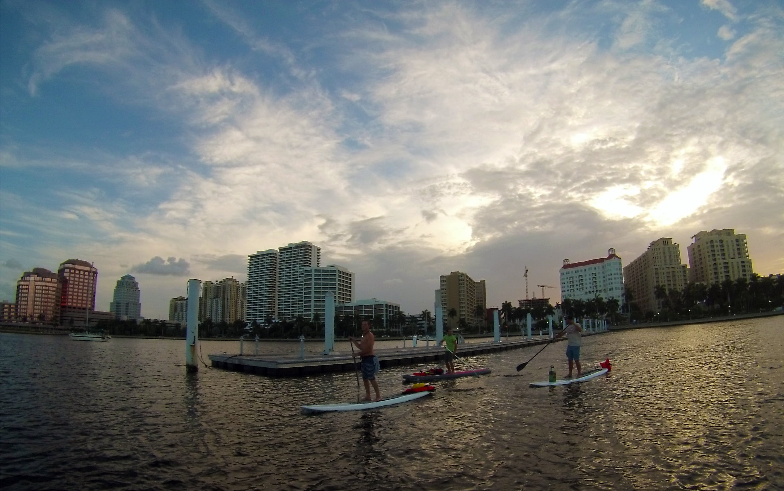 West Palm Beach Waterfront Paddle