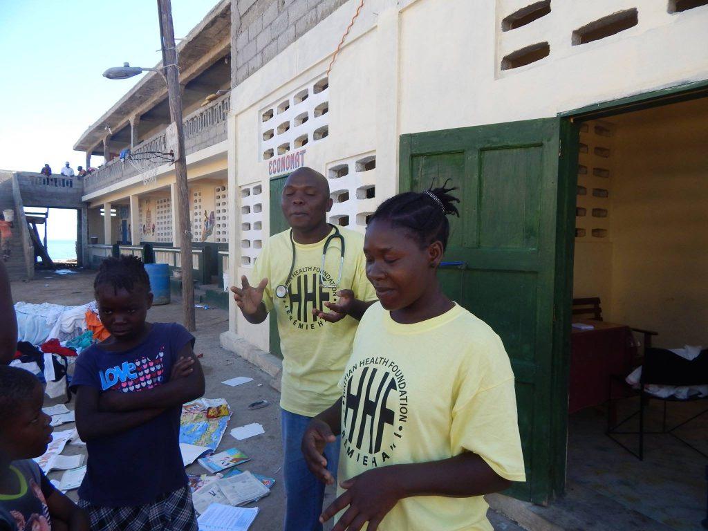 Haitian Health Foundation.