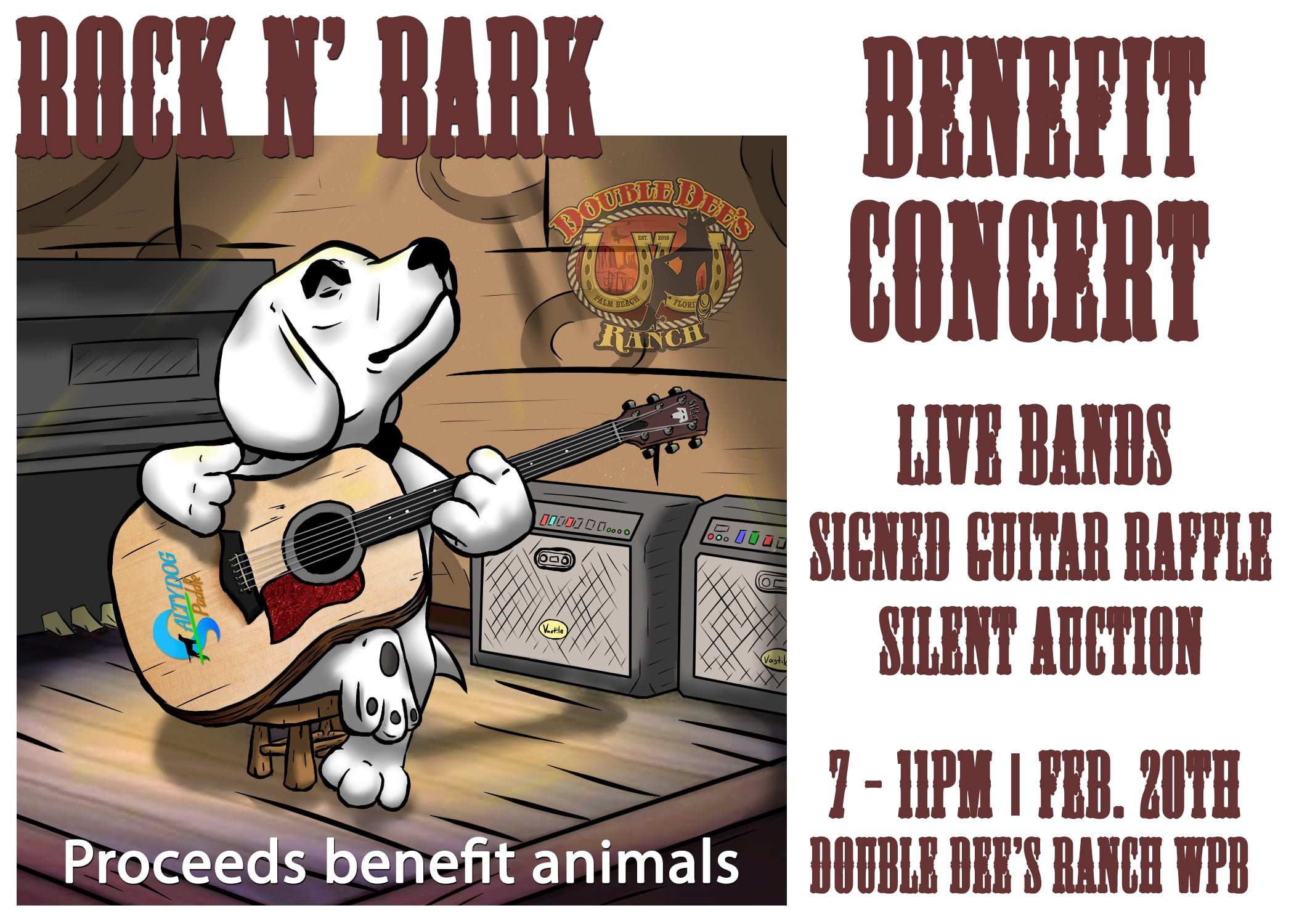 Rock n Bark Benefit Concert