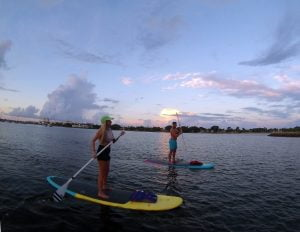 Downtown WPB Waterfront Paddle