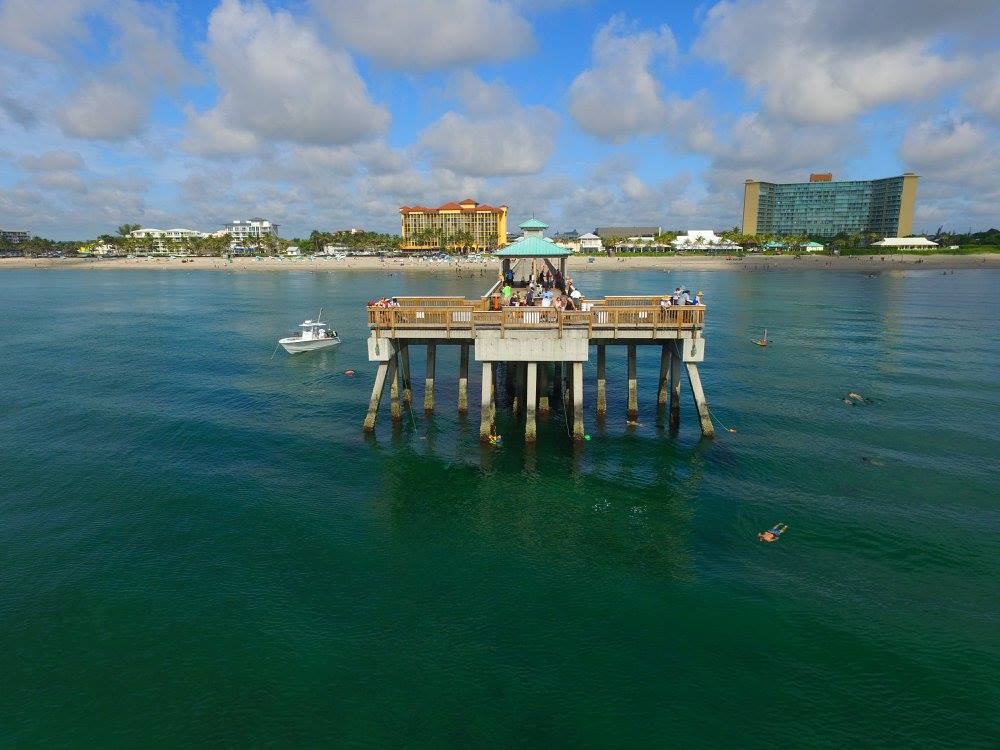 Deerfield Beach Pier Cleanup