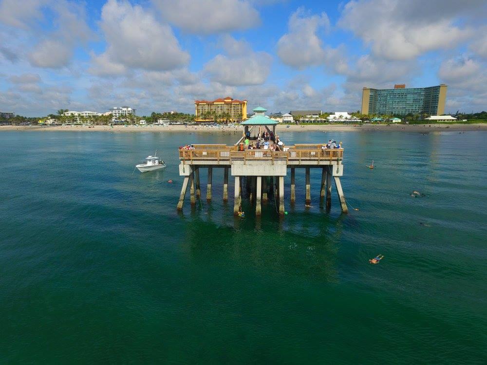 Deerfield Beach Pier Cleanup