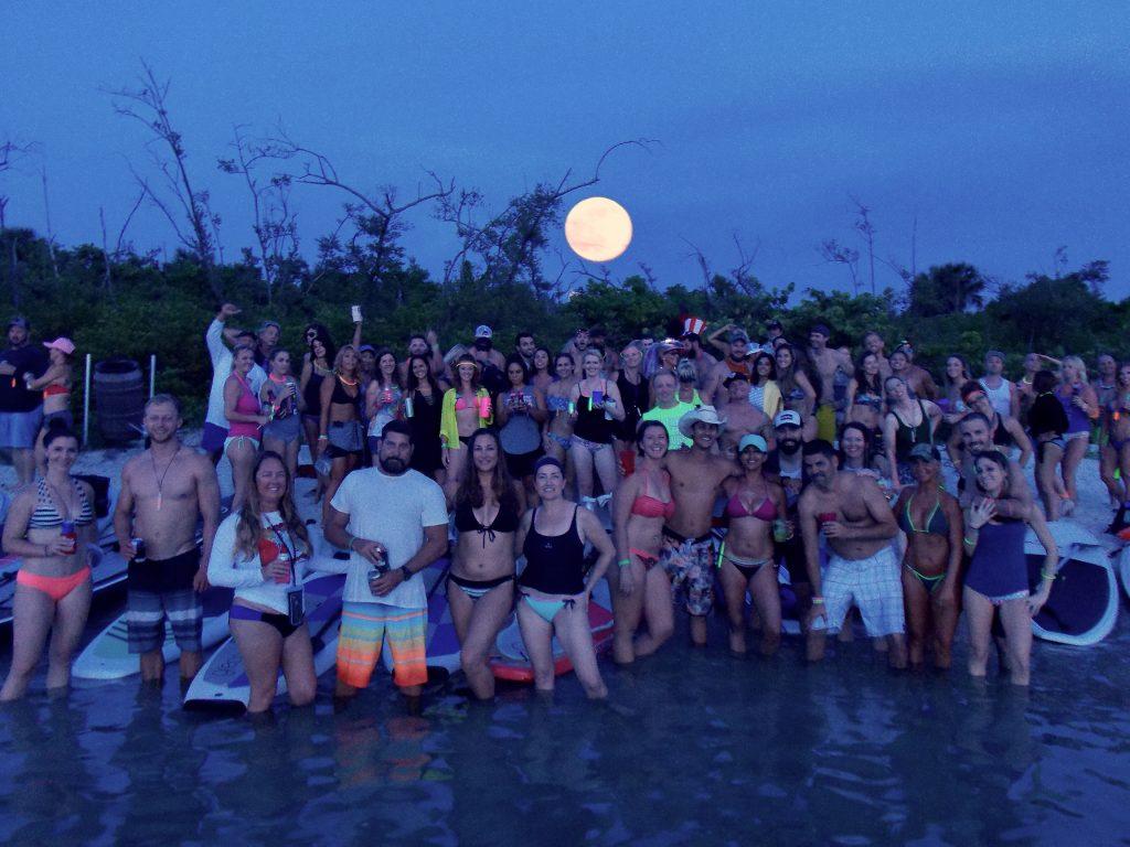Full Moon Paddle Deerfield Island