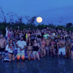 Full Moon Paddle Peanut Island