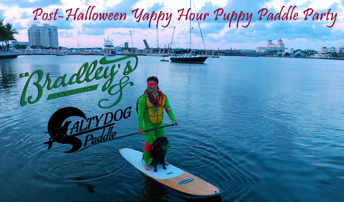 Halloween Puppy Paddle