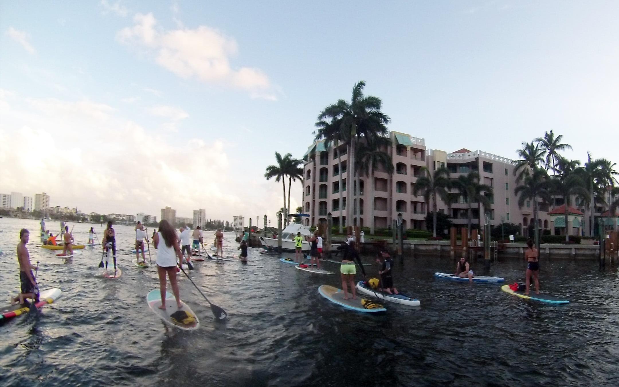 Lake Boca Raton Paddle