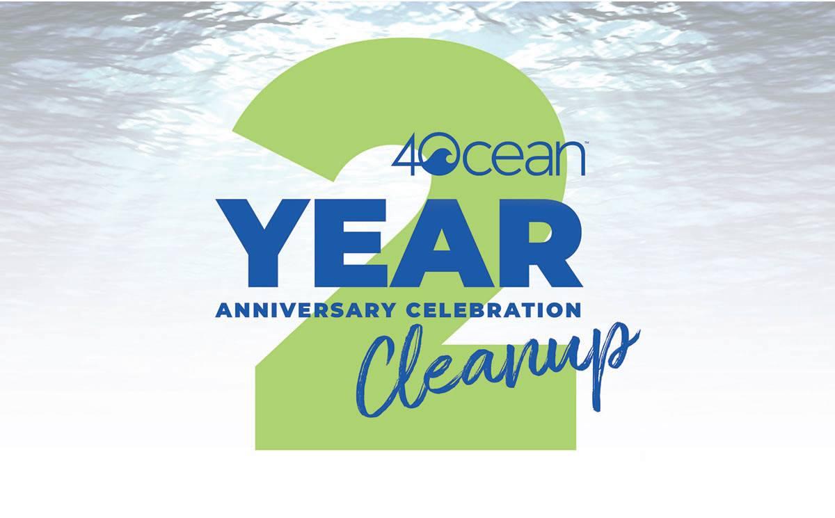 4Ocean Anniversary Cleanup