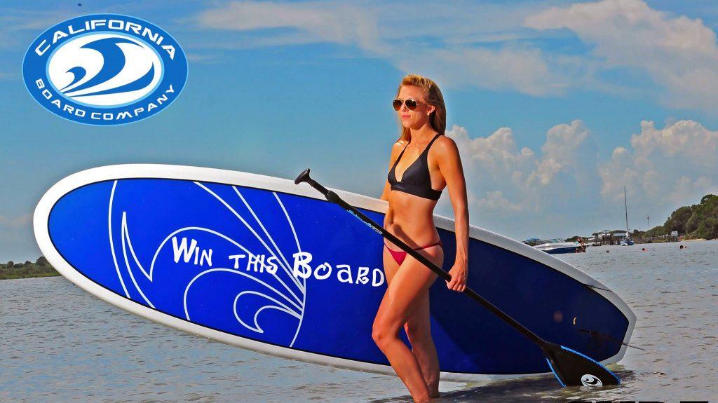 CBC Blue Edge Surf Paddleboard