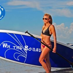 CBC White/Blue Edge Surf Paddleboard