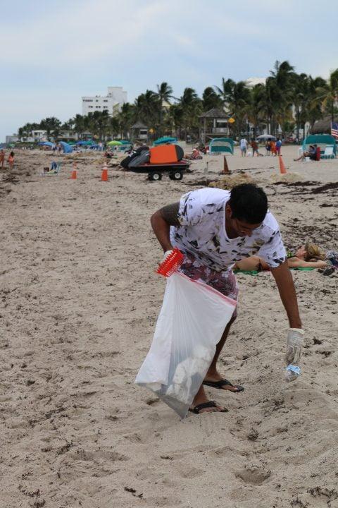 Largest Underwater Clean-up