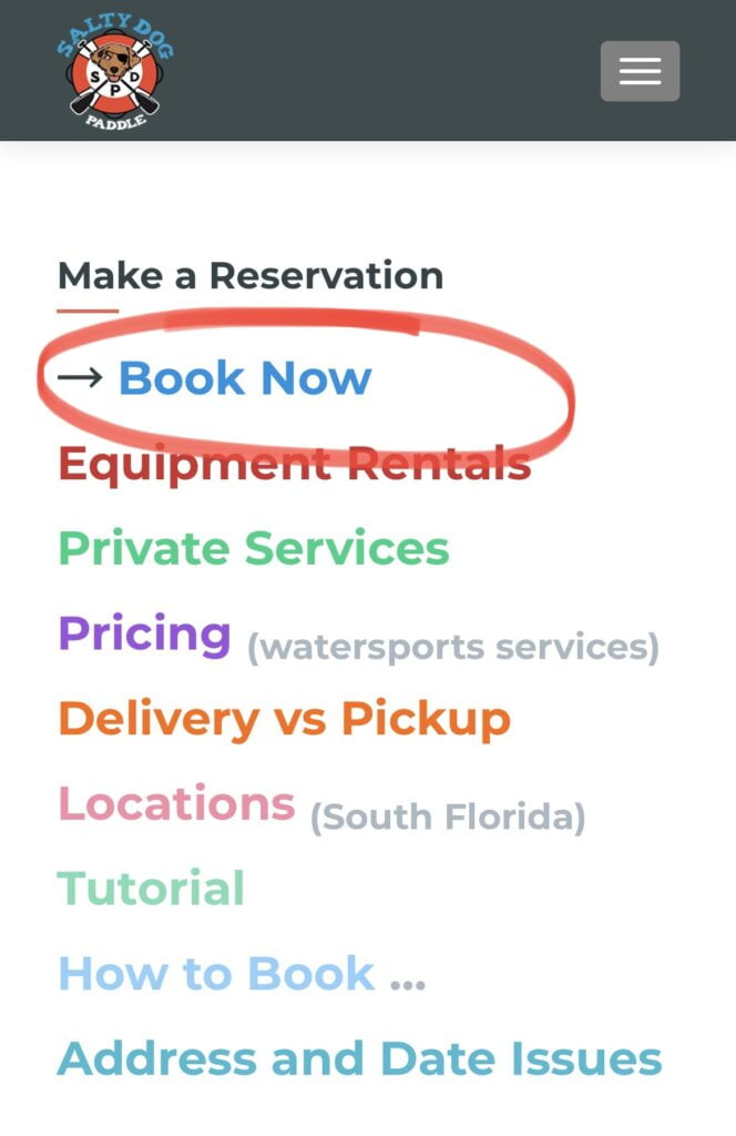 How to Book Make a Reservation